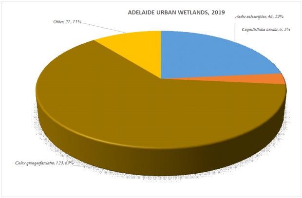 the composition of urban wetland communities in february 2019